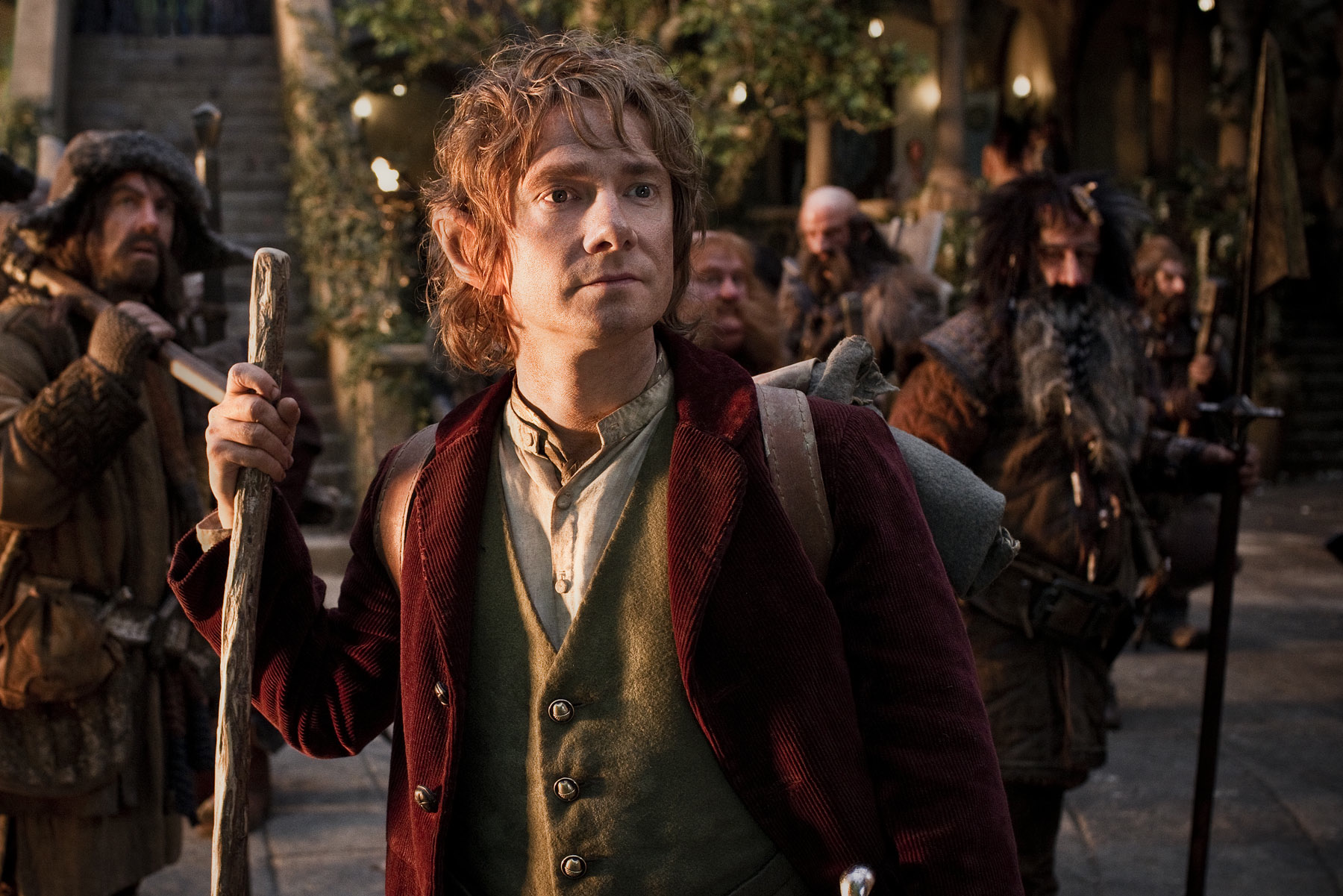 the hobbit and bilbo In particular, the hobbit is about bilbo baggins, and the trilogy suffered from an overbalance of characters, many of which are not in the book at all great job on condensing the intro old bilbo and frodo's conversations were tedious and unnecessary lotr fan-service so they were not missed.