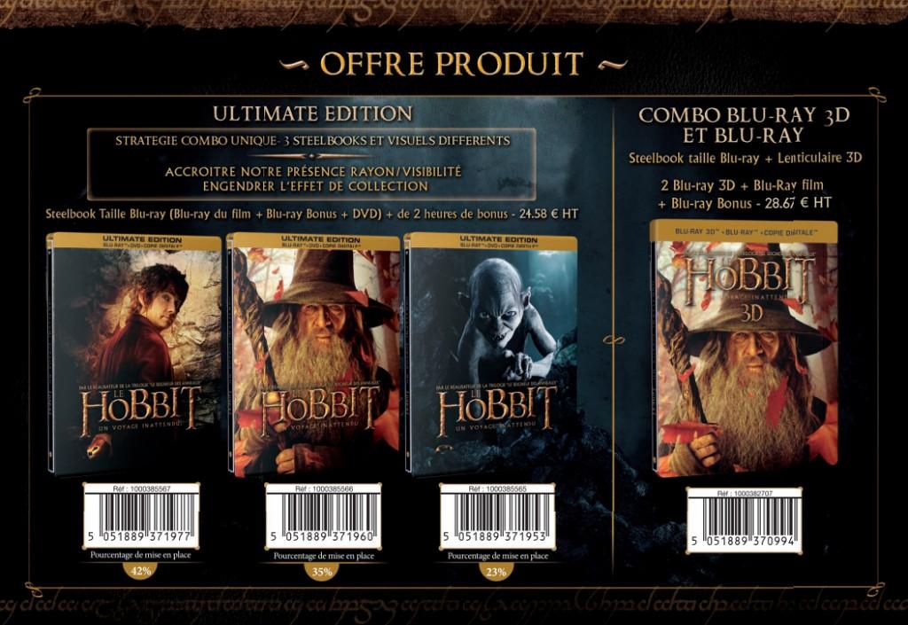 french bluray 1024x705 Хоббит: новости о DVD/BluRay