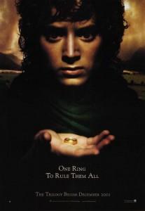01 Teaser 1 Frodo Baggins 1 8 March 2001 207x300 Властелин Колец   Постеры