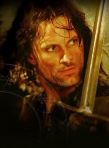 07 Aragorn 221x300 Властелин Колец   Постеры