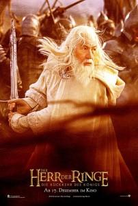 Char Gandalf Deu 202x300 Властелин Колец   Постеры