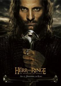 Teaser Aragorn Deu 214x300 Властелин Колец   Постеры
