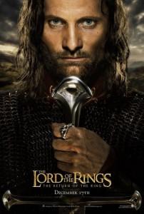 Teaser Aragorn Eng 202x300 Властелин Колец   Постеры