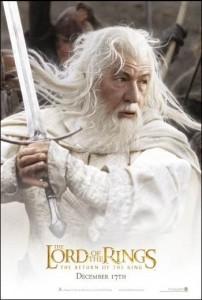 Teaser Gandalf Eng 202x300 Властелин Колец   Постеры