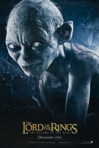 Teaser Gollum Eng 201x300 Властелин Колец   Постеры