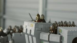 Хельмова Падь из 150 000 деталей LEGO