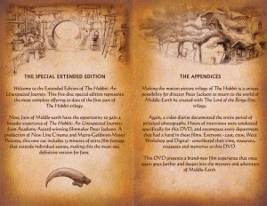 Hobbit Booklet Eng DVD 02 300x232 Хоббит: проект Нежданный буклет