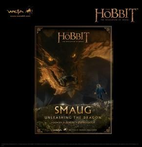 hobbit SmaugBookfrontcoverlrg2a 291x300 WETA: новая книга Смауг   Как спускали с цепи дракона