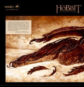 hobbit SmaugBooksamplespread1lrg2 291x300 Smaug   Unleashing the Dragon: первые превью!