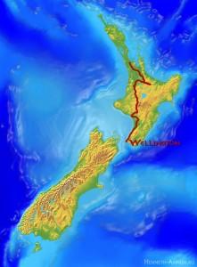 map Wellington 221x300 Новая Зеландия, часть 3: Веллингтон