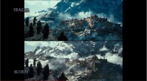 DOS colour changes 300x167 Хоббит 2: покадровое сравнение трейлер < > фильм