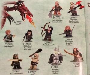 LEGO Hobbit 2014 Sets LEGO War of Five Armies Minifigures 300x251 Новый набор LEGO: возможное изменение в сюжете Хоббита!