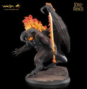 LOTRBalrog2 291x300 WETA: статуя Балрога!