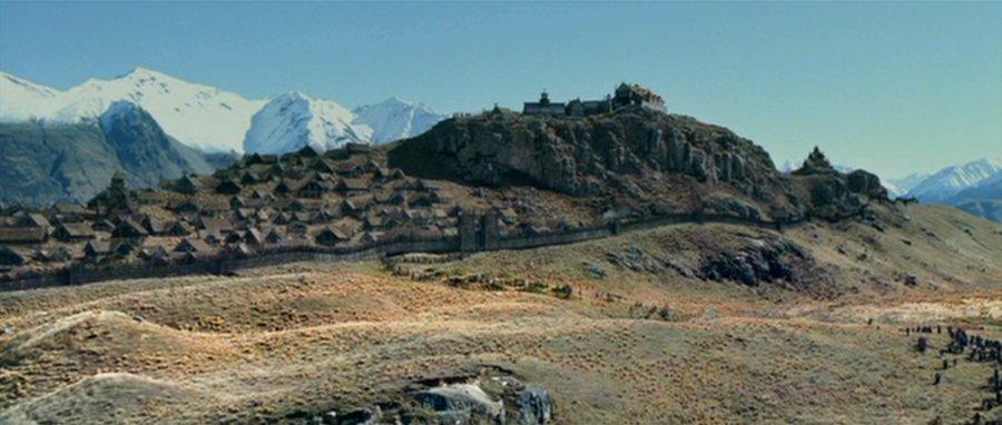 edoras exodus Новая Зеландия, часть 4: гора Сандэй (Эдорас)