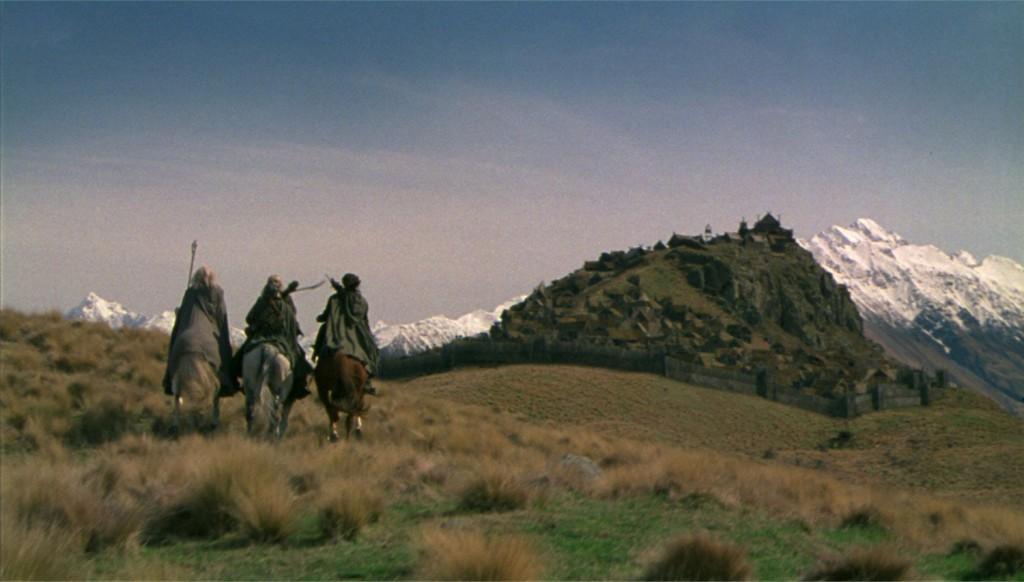 edoras ridingin1 1024x582 Новая Зеландия, часть 4: гора Сандэй (Эдорас)