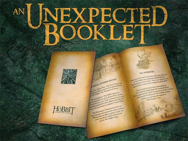 UnexpectedBooklet2 640 Хоббит: проект Нежданный буклет