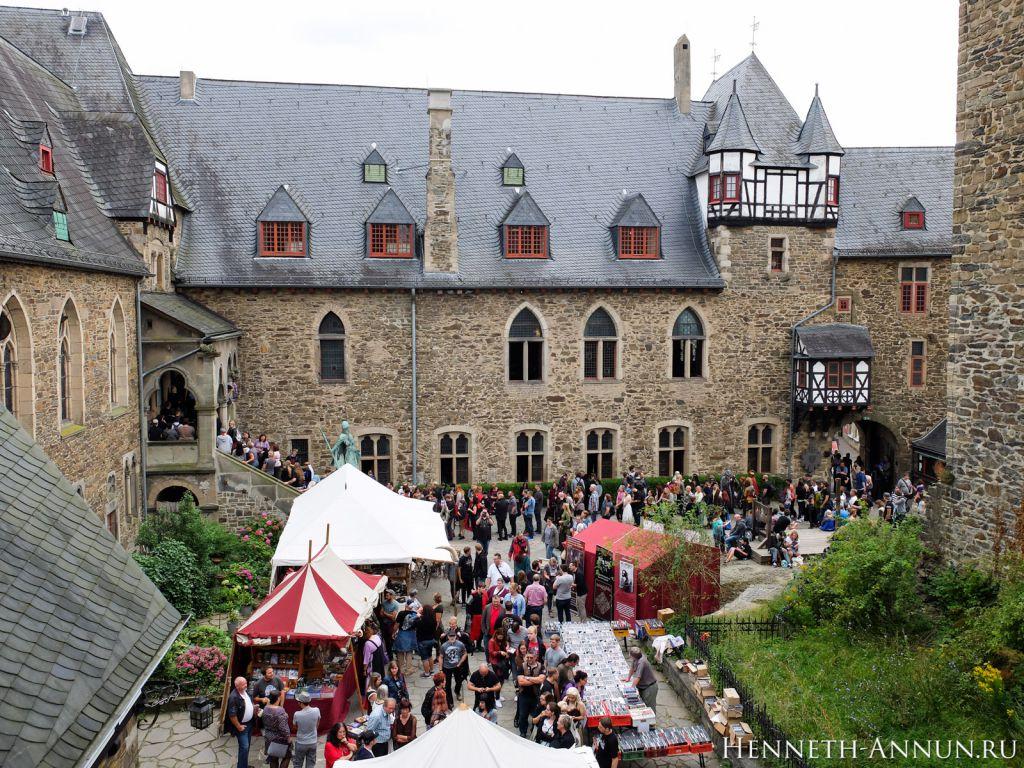 DSCF6733 1024x768 Отчет: MFC2016   Средневековый конвент фэнтэзи в Золингене