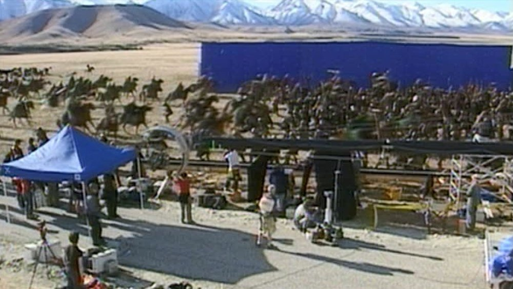 DVD Rohirrin BlueScreen Новая Зеландия, часть 5: Твайзел (Пеленнорские поля)