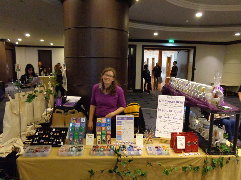 HDzlc7V Middle Earth Con: отчёт о парижском конвенте!