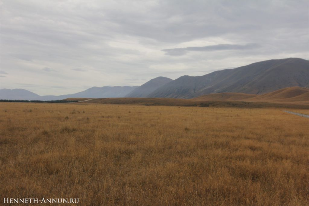 Twizel GandalfRide1 1024x683 Новая Зеландия, часть 5: Твайзел (Пеленнорские поля)