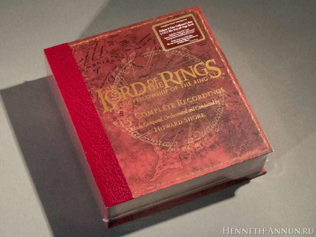 035 DSCF0025 1024x768 Полные записи саундтрека к ВК: Братство Кольца   фотообзор CD!