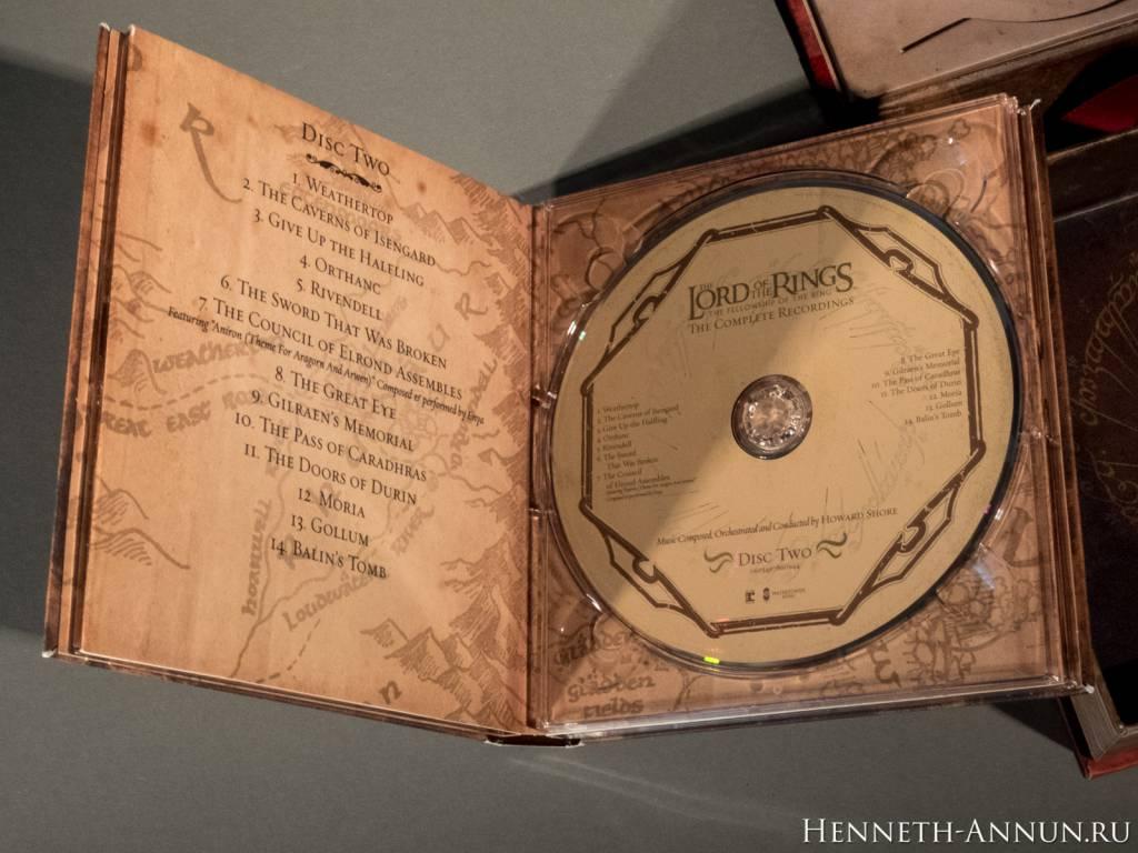 048 DSCF0063 1024x768 Полные записи саундтрека к ВК: Братство Кольца   фотообзор CD!