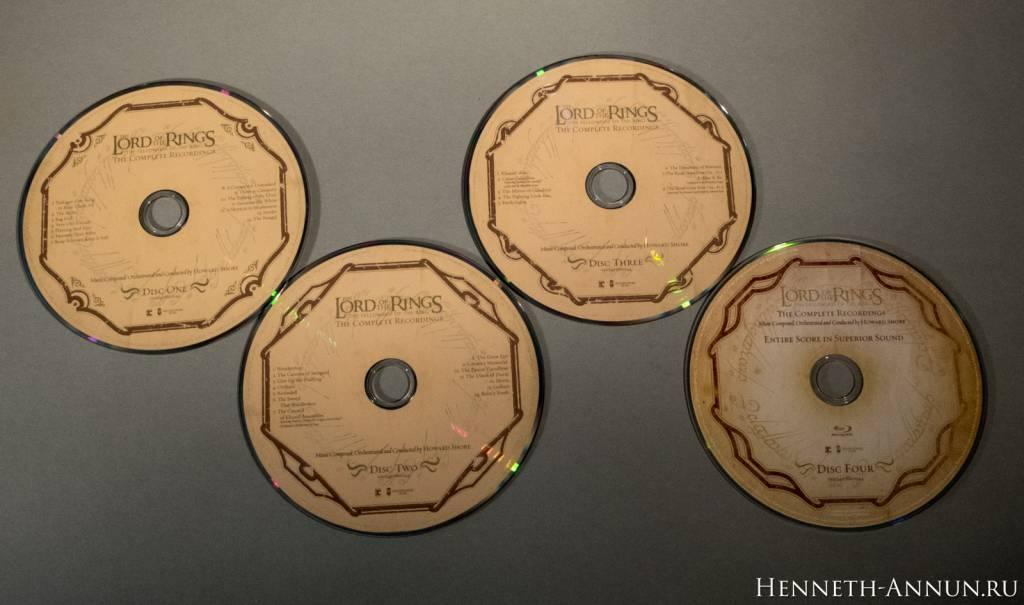051 DSCF0069 1024x605 Полные записи саундтрека к ВК: Братство Кольца   фотообзор CD!